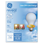 GE Reveal A19 Light Bulb, 53 W, 2/Pack Product Image