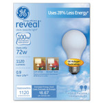 GE Halogen A-Line Bulb, A19, 100 Watts Product Image