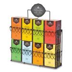 Harney & Sons Premium Assorted Tea Rack, 24.76 x 10.13 x 15.04, Black Product Image