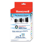 Honeywell True HEPA Air Purifier Replacement Filter, 6.75 x 4.88 x 10.32 Product Image