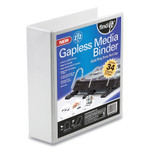 find It Gapless Media Binder, Holds 272 Discs, White Product Image