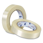 """ipg Filament Strapping/Packing Tape, 3"""" Core, 0.75"""" x 60 yds, Transparent, 12/Pack Product Image"""