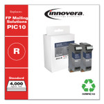 Innovera Compatible Red Postage Meter Ink, Replacement for FP Mailing Solutions PIC10, 4,000 Page-Yield, 2/Pack Product Image