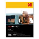 Kodak Photo Paper, 8 mil, 8.5 x 11, Glossy White, 100/Pack Product Image