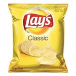 Lay's Regular Potato Chips, 1.5 oz Bag, 64/Carton Product Image