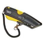LabelMaster Easy Cut 2000 Utility Knife, Yellow Product Image