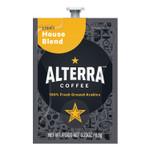 ALTERRA Coffee Freshpack Pods, House Blend, Light Roast, 0.23, 100/Carton Product Image