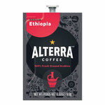 ALTERRA Coffee Freshpack Pods, Ethiopia, Medium Roast, 0.32 oz, 100/Carton Product Image