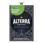ALTERRA Coffee Freshpack Pods, French Roast Decaf, Dark Roast, 0.25 oz, 100/Carton Product Image