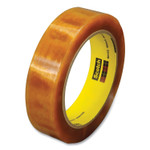 """Scotch Light Duty Heat Resistant, Packaging Tape, 3"""" Core,  1"""" x 72 yds, Clear, 1/Roll Product Image"""