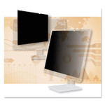 """3M Frameless Blackout Privacy Filter for 30"""" Widescreen Monitor, 16:10 Aspect Ratio Product Image"""