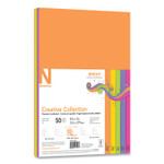 Neenah Paper Creative Collection Premium Cardstock, 65 lb, 8.5 x 11, Assorted Bright, 50/Pack Product Image