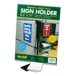 NuDell Acrylic Sign Holder, 8 1/2 x 11, Clear NUD37085 Product Image