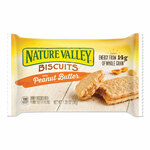 Nature Valley Biscuits, Honey with Peanut Butter, 1.35 oz Pouch, 16/Box Product Image