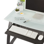 Safco Xpressions Keyboard Tray, Steel, 23.5w x 15.25d, Black Product Image