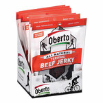 Oberto All Natural Beef Jerky, Teriyaki, 1.5 oz Pouch, 8/Box Product Image