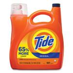 Tide HE Laundry Detergent, Original Scent, 107 Loads, 154 oz Pump Bottle Product Image