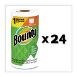 Bounty Kitchen Roll Paper Towels, 2-Ply, White, 48 Sheets/Roll, 24 Rolls/Carton Product Image