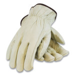 PIP Economy Grade Top-Grain Cowhide Leather Drivers Gloves, Small, Tan Product Image