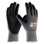 MaxiFlex Endurance Seamless Knit Nylon Gloves, Large (Size 9), Gray/Black, 12 Pairs Product Image