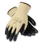 G-Tek KEV Seamless Knit Kevlar Gloves, Small, Yellow/Black, 12 Pairs Product Image