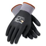 MaxiFlex Ultimate Seamless Knit Nylon Gloves, Nitrile Coated MicroFoam Grip on Full Hand, Medium, Gray, 12 Pairs Product Image