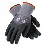 MaxiFlex Ultimate Seamless Knit Nylon Gloves, Nitrile Coated MicroFoam Grip on Palm, Fingers and Knuckles, X-Large, Gray, 12 Pairs Product Image
