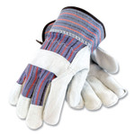 PIP Shoulder Split Cowhide Leather Palm Gloves, B/C Grade, X-Large, Blue/Gray, 12 Pairs Product Image