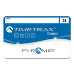Pyramid Technologies Swipe Cards for TimeTrax Time Clocks, 3.62 x 2.12, 25/Pack Product Image