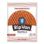 Rip Van Wafels - Single Serve, Snickerdoodle, 1.16 oz Pack, 12/Box Product Image