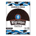 Rip Van Wafels - Single Serve, Cookies and Cream, 1.16 oz Pack, 12/Box Product Image