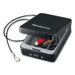 Sentry Safe P005C Portable Combination-Lock Security Safe, 0.05 cu ft, 5.9 x 8 x 2.6,  Black Product Image