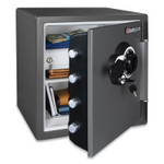 Sentry Safe Fire/Waterproof 1.23 Cu Ft Combination with Key Safe, 16.3 x 19.3 x 17.8, Black Product Image