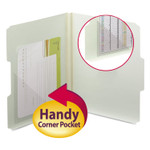 Smead Self-Adhesive Poly Corner Pockets, Clear, 6x6, 100/Box Product Image