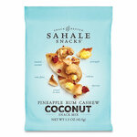 Sahale Snacks Glazed Mixes, Pineapple Rum Cashew Coconut, 1.5 oz Pouch, 18/Carton Product Image