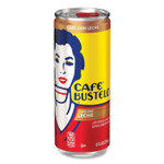 BUSTELO cool Ready to Drink Espresso Beverage, Caf con Leche: Espresso with Milk, 8 oz Can, 12/Carton Product Image