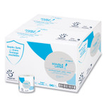 """Papernet Double Layer Toilet Tissue, Septic Safe, 1-Ply, White, Virgin, 4"""" x 248 ft, 850 Sheets/Roll, 96 Rolls/Carton Product Image"""