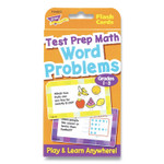 """TREND Challenge Cards Flash Cards, Math, Grades 4-6, 3.12"""" x 5.25"""", 56/Pack Product Image"""