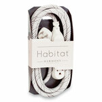 360 Electrical Habitat Accent Collection Braided AC Extension Cord, 8 ft, 13 A, French Gray Product Image