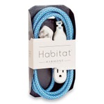 360 Electrical Habitat Accent Collection Braided AC Extension Cord, 8 ft, 13 A, Summer Twilight Product Image