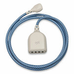 360 Electrical Harmony Collection Braided USB Extension Charging Cable, 6 ft, Summer Twilight Product Image