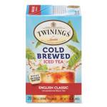 TWININGS Cold Brew Iced Tea Bags, English Classic, 0.07 oz Tea Bag, 20/Box Product Image