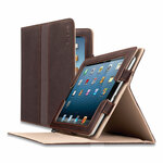 Solo Ascent Leather Case for iPad/iPad 2/3rd Gen/4th Gen, Brown Product Image