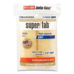 """Wooster Jumbo-Koter Professional Super/Fab Removable Roller, 4.5"""" Synthetic Knit Fabric, 0.75"""" Core, 0.5"""" Nap, Golden Yellow, 2/Pack Product Image"""