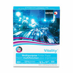 xerox Vitality Multipurpose Print Paper, 92 Bright, 20 lb, 8.5 x 11, White, 500 Sheets/Ream Product Image