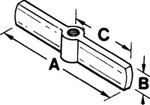 Stanley Products 3/4-12 Acme 2-Way Threaded Crossarm Product Image