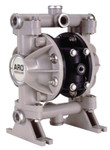 Ingersoll Rand Diaphragm Pump, 1/2 in (NPTF) Outlet, Polypropylene - Polyurethane Product Image