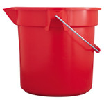 Newell Brands Brute Round Bucket, 10 qt, Red Product Image