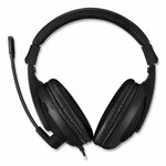 Adesso Xtream H5U Stereo Multimedia Headset with Mic, Binaural Over the Head, Black Product Image