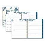 Blue Sky Frosted Weekly/Monthly Planner, 11 x 8.5, Bakah Blue, 2022 Product Image